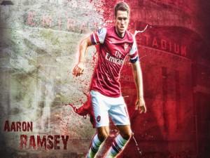 Aaron Ramsey jugador del Arsenal