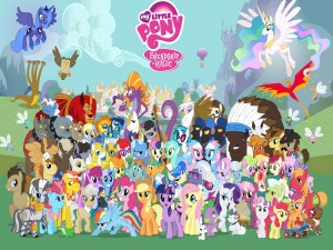 "Personajes de ""My Little Pony"""