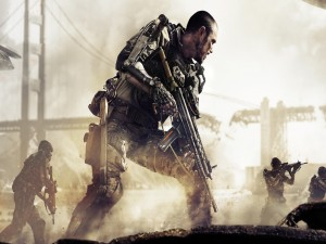 Jugando al Call of Duty
