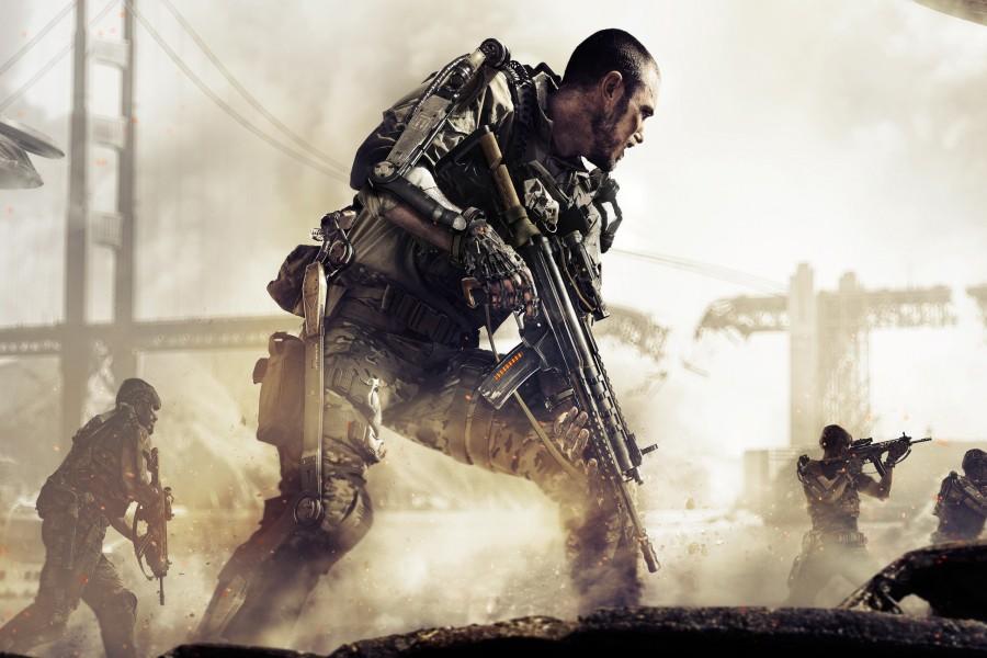Jugando al Call of Duty