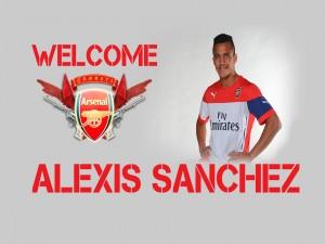 Bienvenido Alexis Sánchez (Arsenal F.C.)