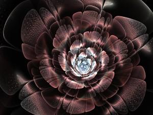 Gran flor digital