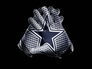 Guantes de los Dallas Cowboys
