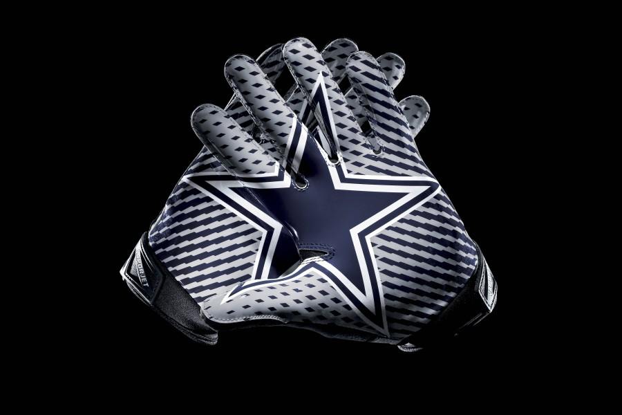 Guantes de los Dallas Cowboys