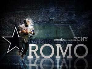 Tony Romo jugador de los Dallas Cowboys
