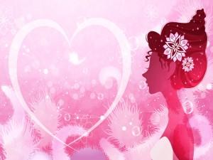 Una mujer enamorada