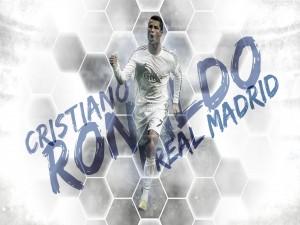 Cristiano Ronaldo jugando en el Real Madrid