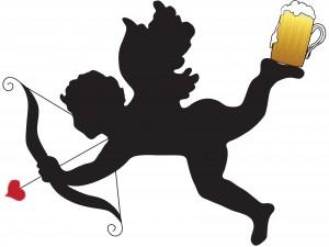 A Cupido le gusta la cerveza