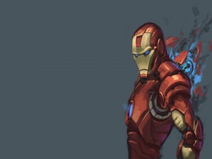 Dibujo de Iron Man