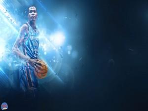 El jugador de baloncesto Kevin Durant