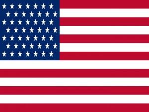 Gran bandera americana
