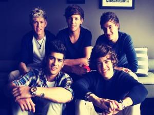 Los chicos de One Direction sonriendo