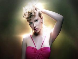 Una joven Scarlett Johansson