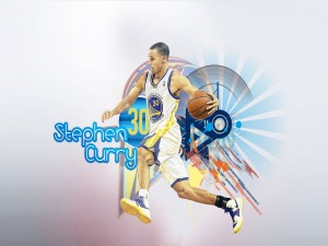 El jugador Stephen Curry