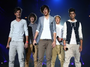 One Direction en el escenario