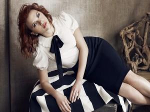 Scarlett Johansson con un bonito conjunto