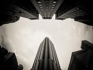 Cielo y edificios de una ciudad