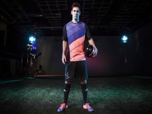 Leo Messi en un estudio