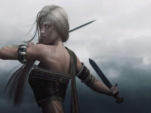 Guerrera vikinga