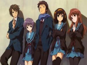 """Personajes de """"Suzumiya Haruhi no Yūutsu"""""""