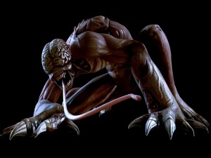 """Monstruo de la serie de videojuegos """"Resident Evil"""""""