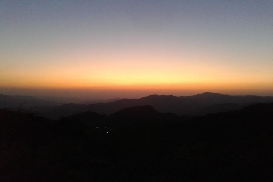 Un bello amanecer