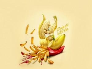 Plátano con energía