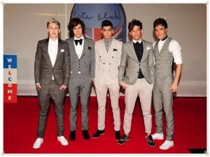 Los chicos de One Direction muy elegantes