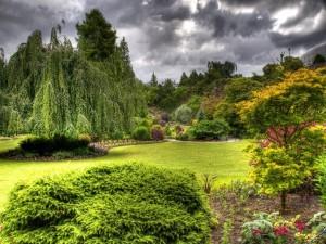 Impresionante y bello jardín