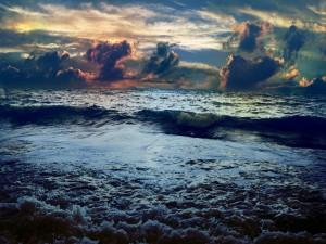 Las olas del mar