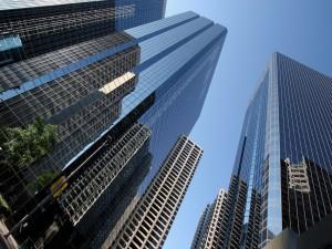 Edificios de gran altura en Nueva York