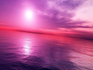 Atardecer rosado