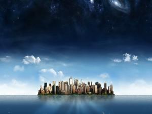 Observando la ciudad de Nueva York