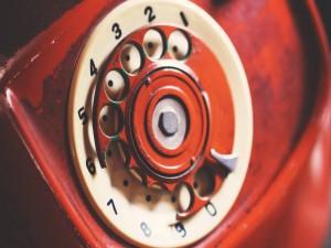 Antiguo teléfono