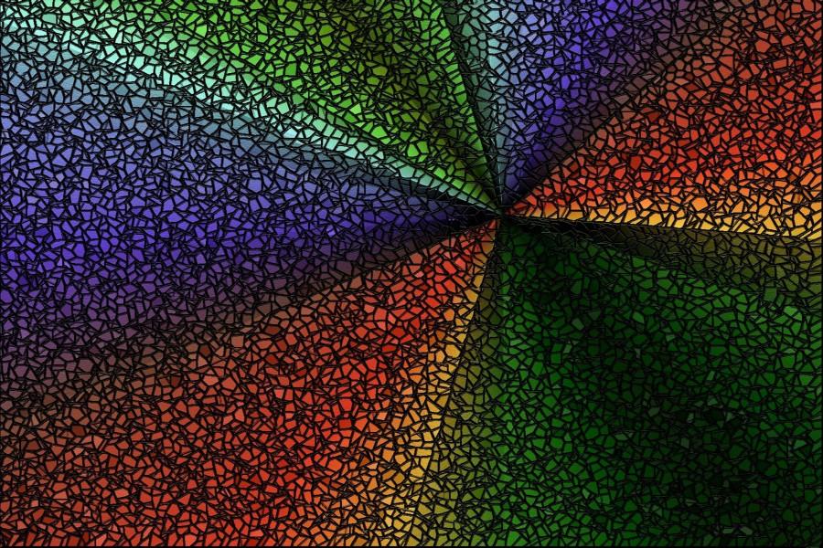 Piezas de mosaico de colores 79640 - Mosaico de colores ...