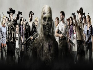"""The Walking Dead""serie y comic"
