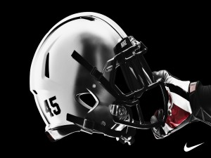 Casco de los Ohio State