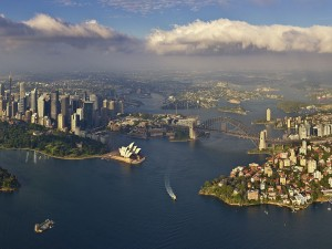 Vista aérea de Sidney