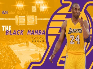 "Kobe Bryant ""The Black Mamba"""
