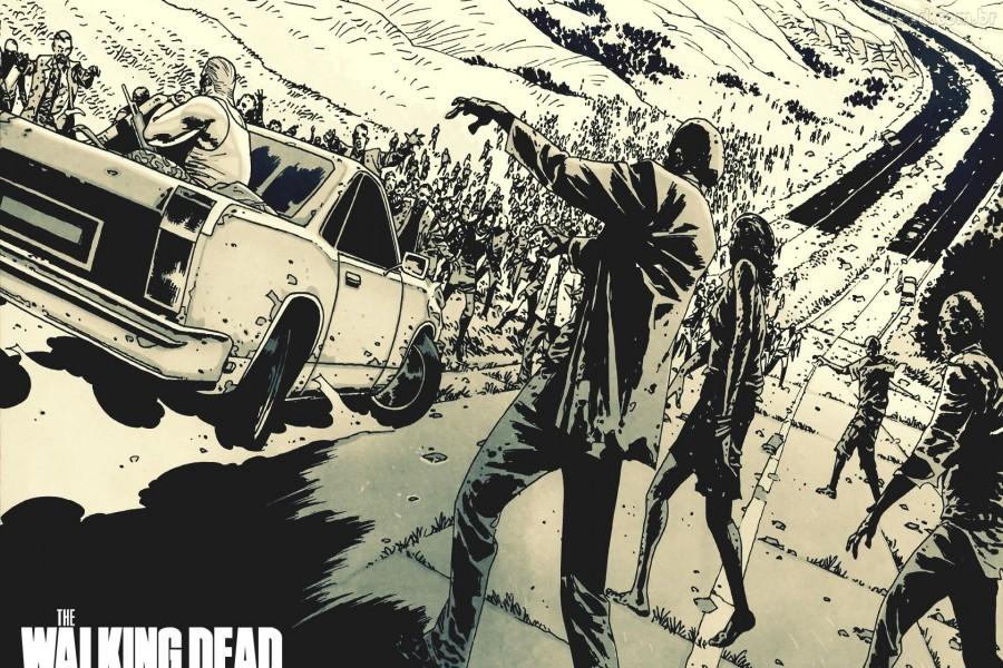 """Imagen del cómic """"The Walking Dead"""""""