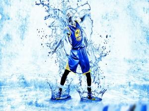 El jugador Steph Curry