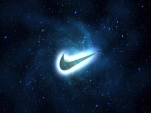 Logo brillante de Nike