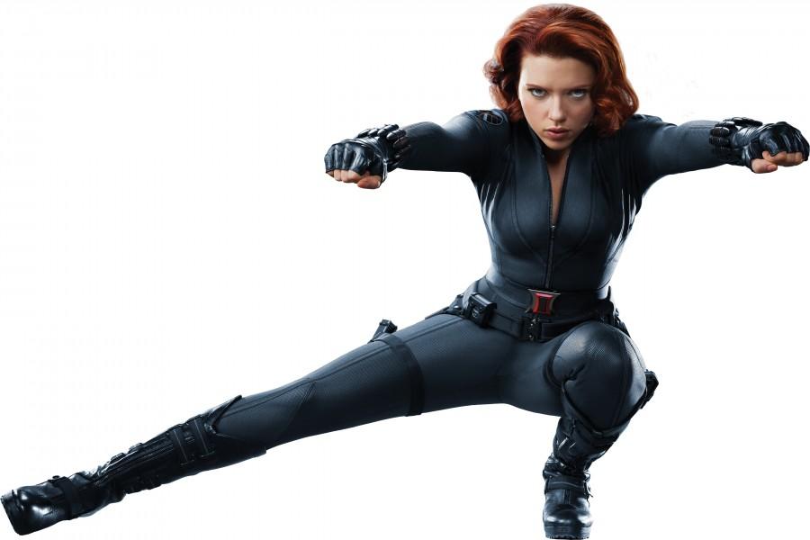 """Scarlett Johansson en """"The Avengers"""""""