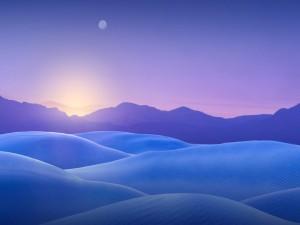 Atardecer en las dunas