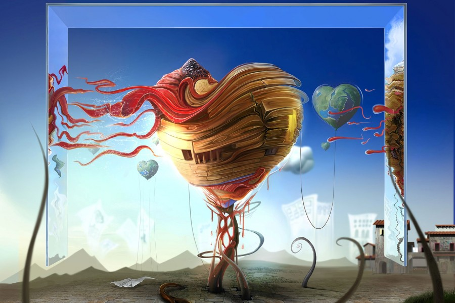 Mundo de corazones