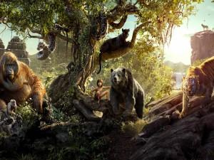 """Personajes de la película """"El libro de la selva"""""""