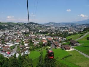 Vista parcial de Pilatus (Suiza)