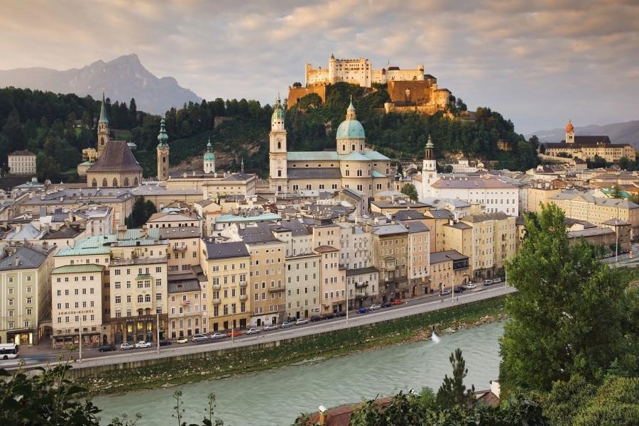 Edificios en Austria