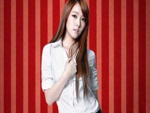 La cantante Kwon Yuri, del grupo surcoreano Girls Generation.