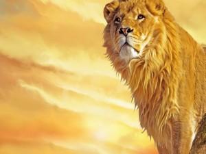 León dorado